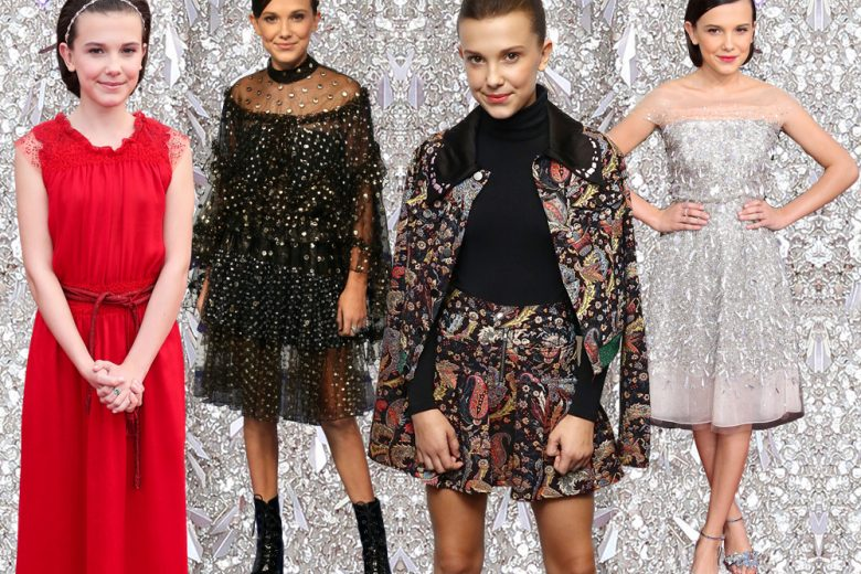 "Millie Bobby Brown: Undici di ""Stranger Things"" è una piccola style icon"
