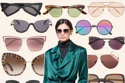 Occhiali da sole: tutti i modelli per la Primavera-Estate 2018