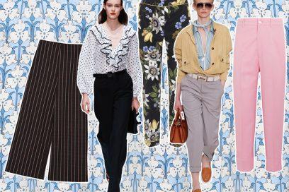Pantaloni: i modelli must-have della primavera-estate 2018