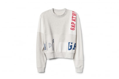 GAP-LOGO-REMIX-CREW-WOMAN,-Heather-Grey-Combo,-271889