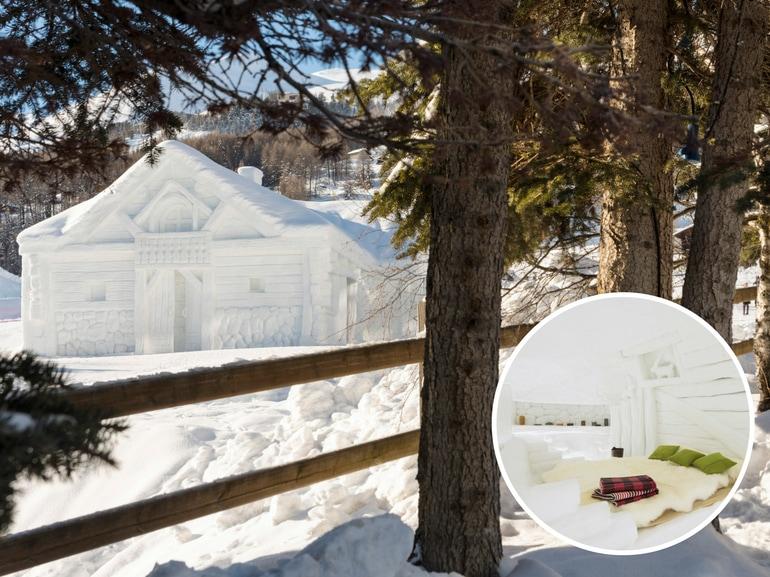 Livigno in chalet di neve snow suite lungo livigno San Valentino festa innamorati weekend romantici