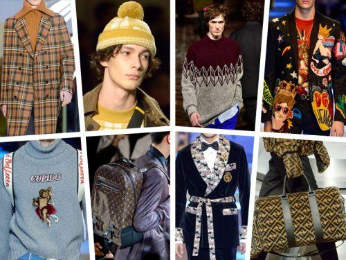 Abbigliamento Uomo  le tendenze per l Autunno-Inverno 2018 19 fcc25cc8f6e