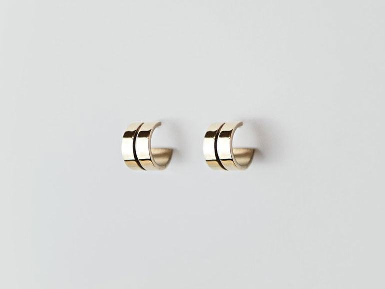 Mi-ja_E_Beam_Bronze_Earring