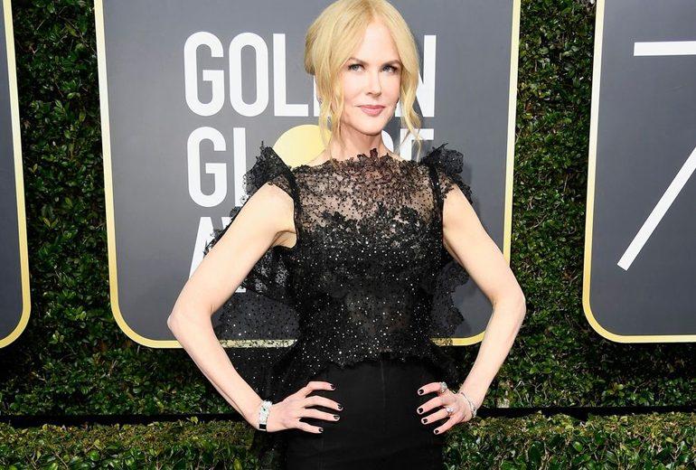 eBay mette all'asta gli abiti neri indossati dalle star ai Golden Globe 2018