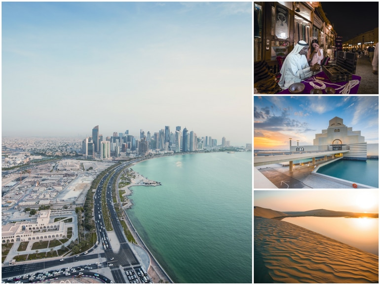 Qatar San Valentino festa innamorati weekend romantici