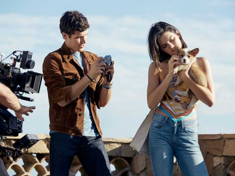 Roberto-Bolle-e-Kendall-Jenner-per-Tod's