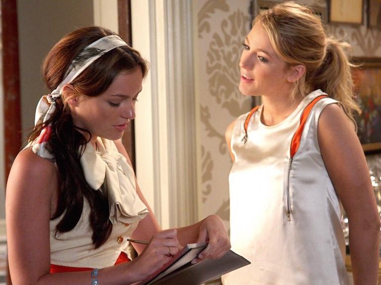 Serena e Blair vestito bianco