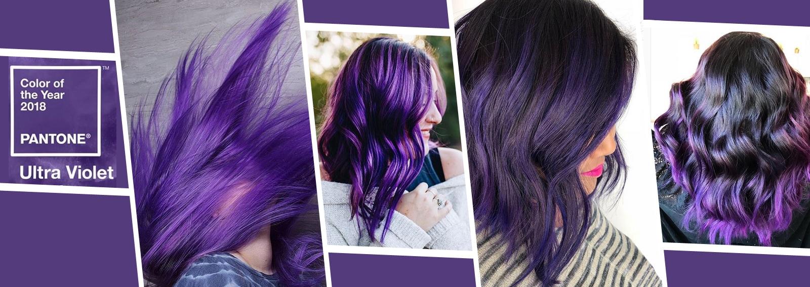 Ultra Violet hair i capelli viola 2018 nel colore Pantone DESKTOP_ultraviolet