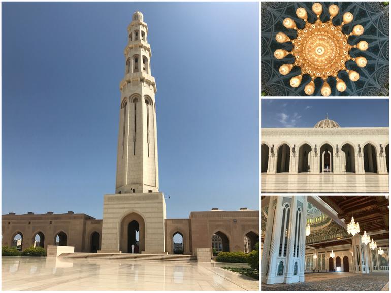 Viaggio in Oman Grand Mosque Muscat capitale Oman moderna e tradizionalista