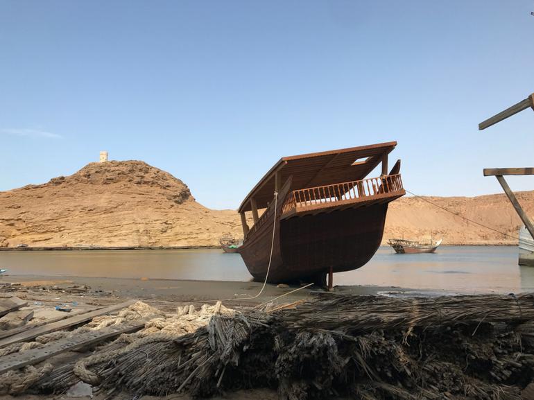 Viaggio in Oman I vascelli di Sur vascelli in legno costruiti a mano