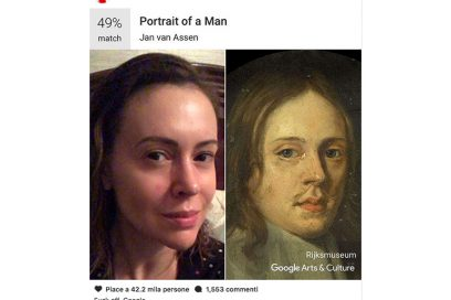 alyssa milano google arts