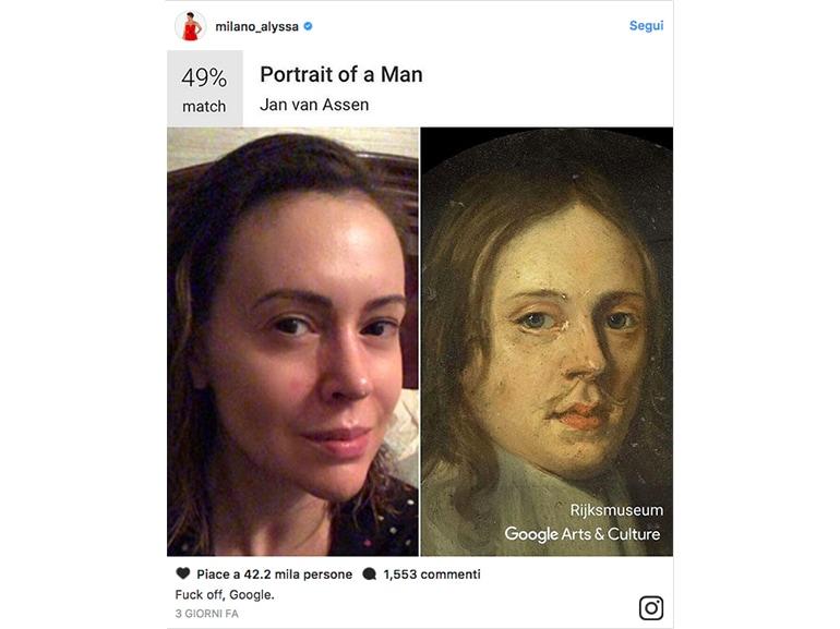 alyssa milano google arts
