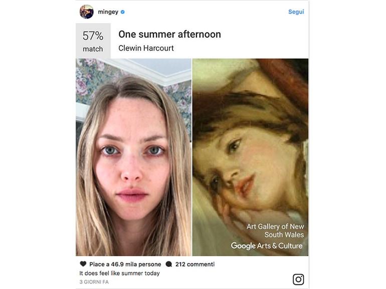amanda seyfried google arts