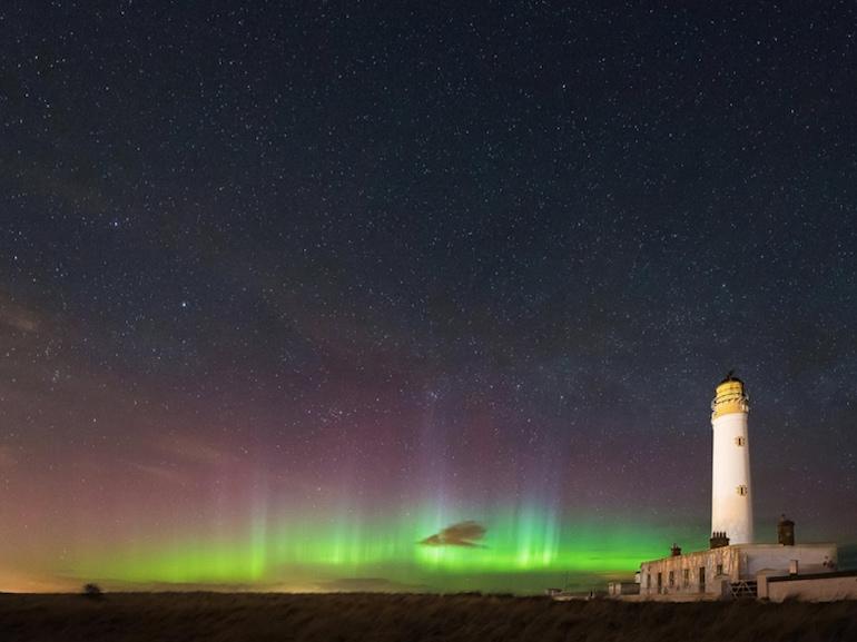 aurora boreale scozia