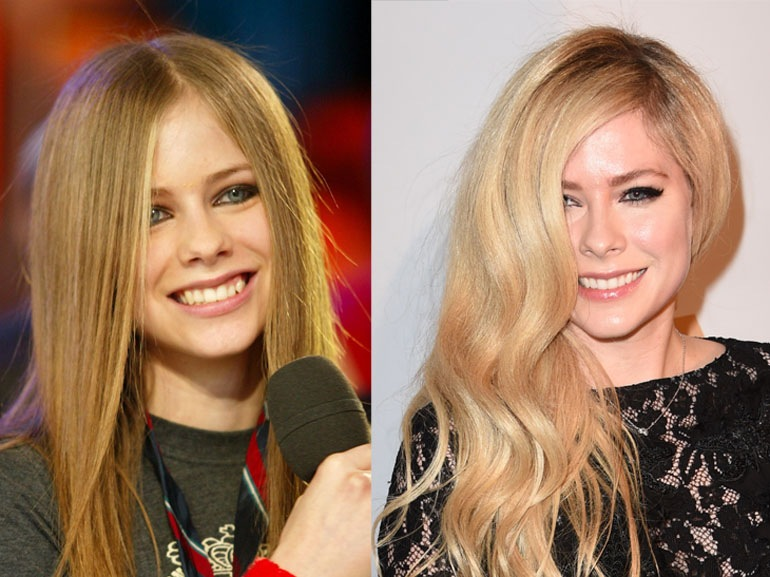 Avril Lavigne On MTV's 'TRL'