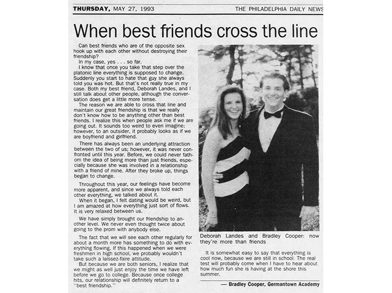 bradley cooper articolo
