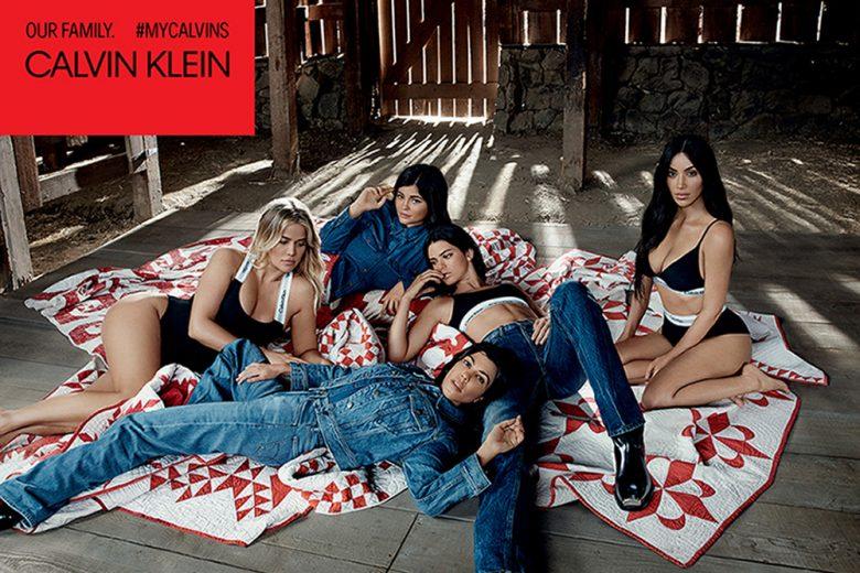 Calvin Klein: ritratto di famiglia con le sorelle Kardashian