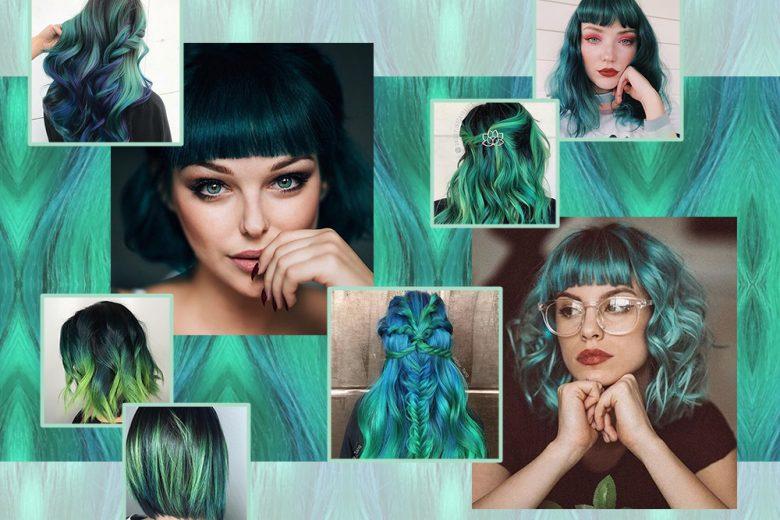 Capelli verdi: gli hair look green da copiare in tutte le sfumature