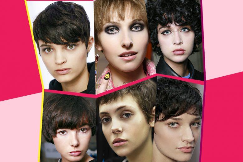 Taglio corto con frangia: gli hairlook di tendenza