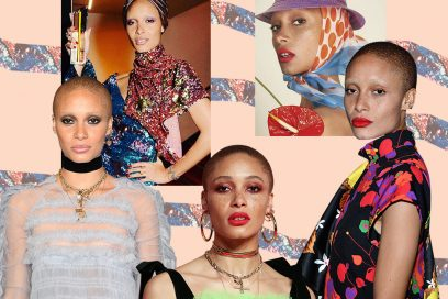 Adwoa Aboah: i beauty look della modella e attivista