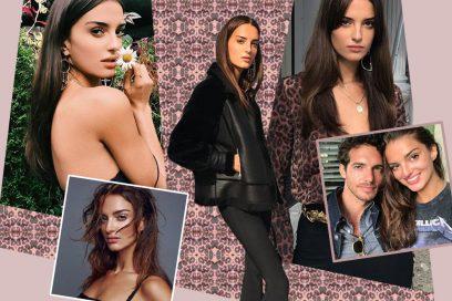 Gabrielle Caunesil: i beauty look della modella francese