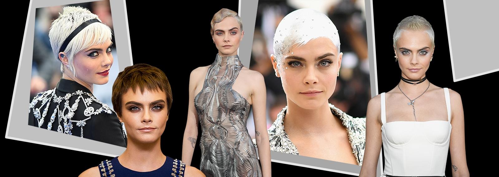 Cara Delevingne capelli corti: tutti gli ultimi haircut dell'attrice