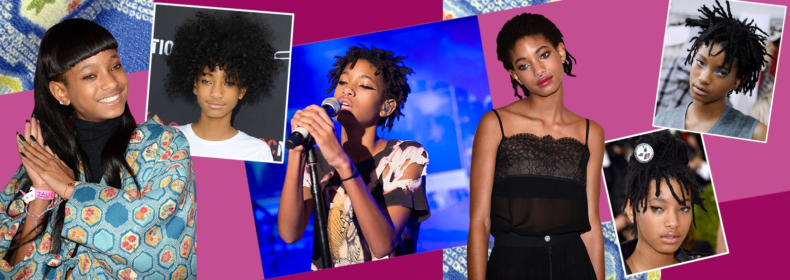 Willow Smith beauty look: i trucchi e le acconciature più cool