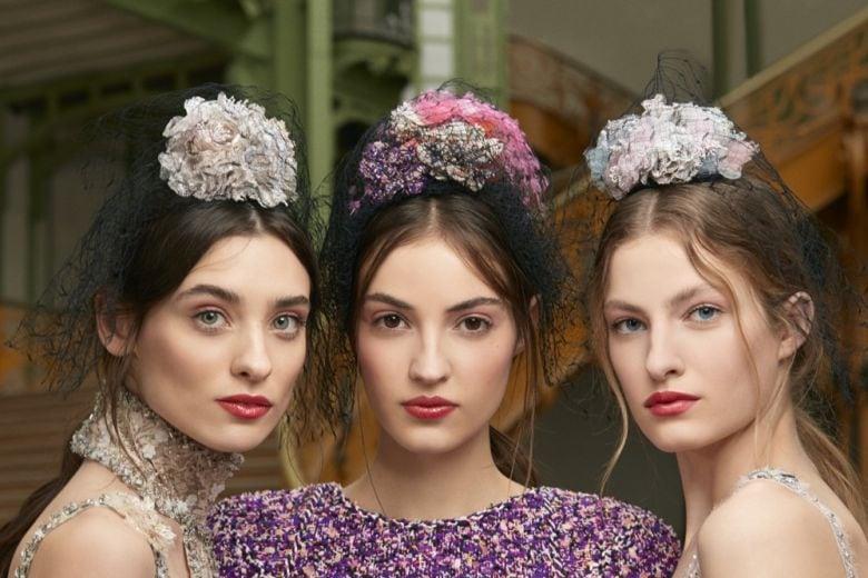 CHANEL Haute Couture Spring-Summer 2018: il trucco della sfilata