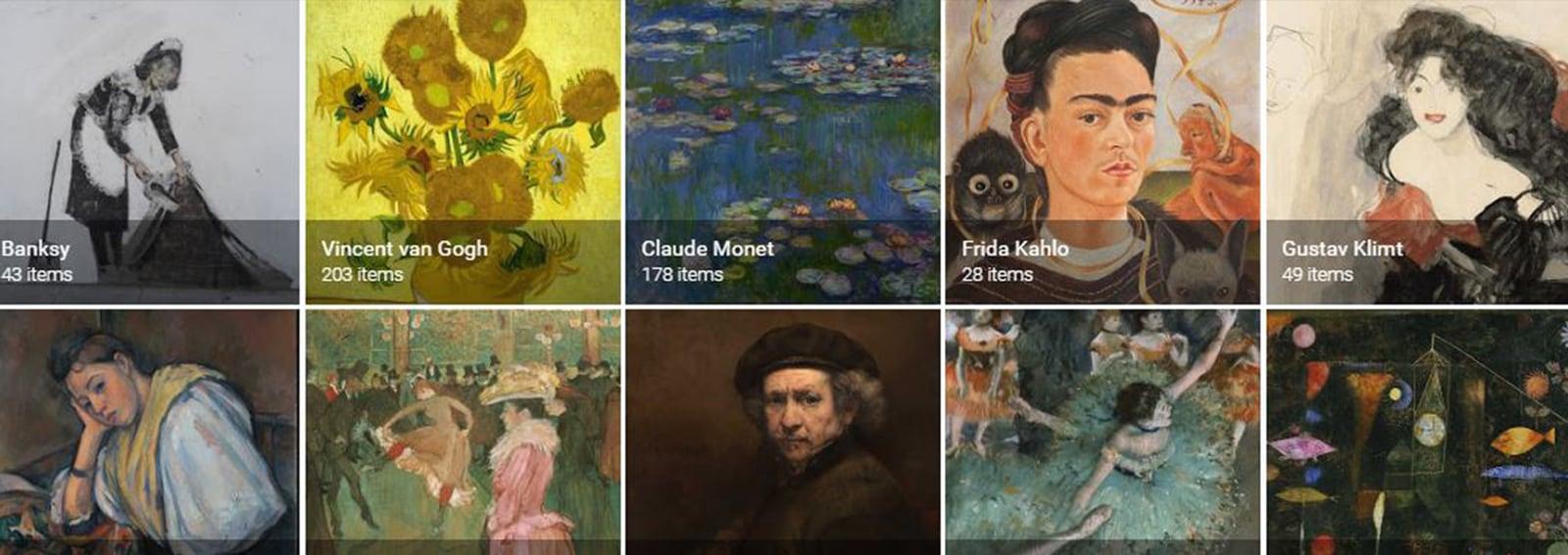 cover come funziona nuova app google arts desktop