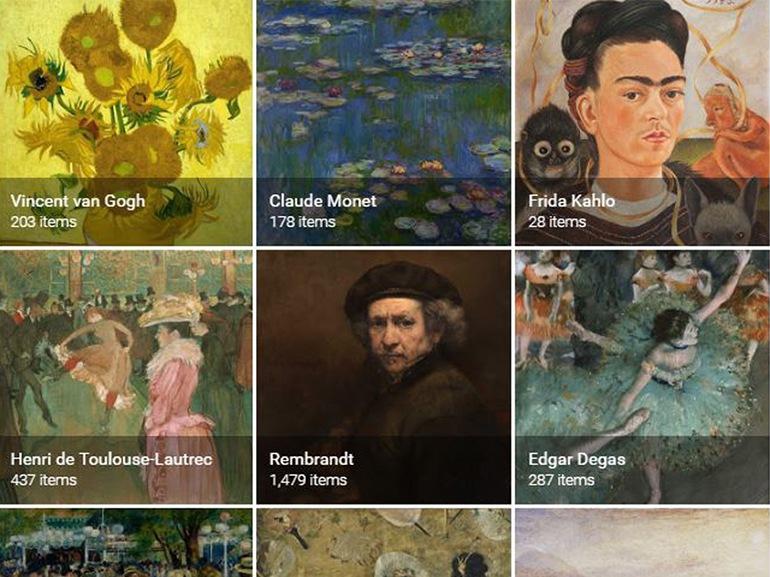 cover come funziona nuova app google arts mobile