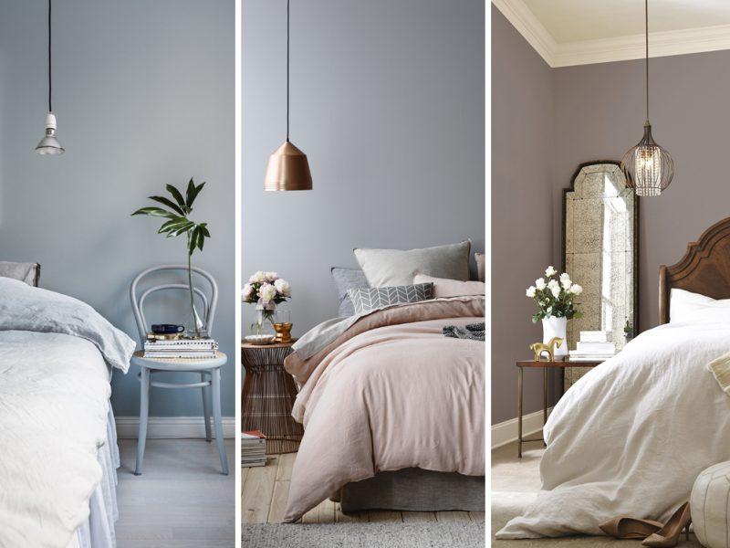 8 coppie di colori perfette per la camera da letto - Colori parete camera da letto ...
