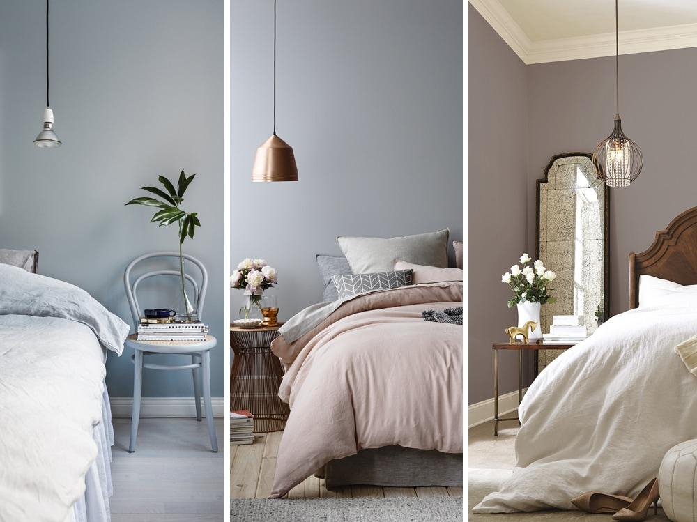 8 coppie di colori perfette per la camera da letto for Colori per muri
