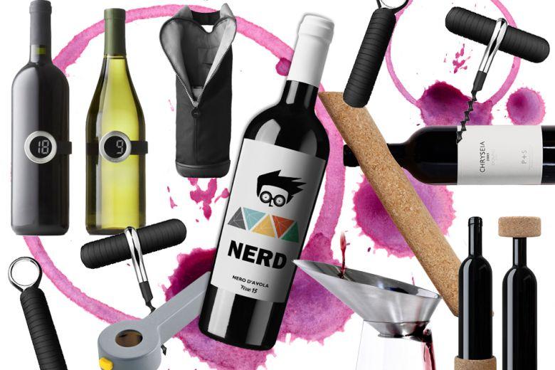 10 oggetti di design per servire bene il vino