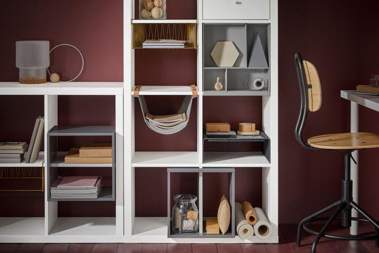 Come usare la libreria KALLAX di IKEA in ogni stanza della casa