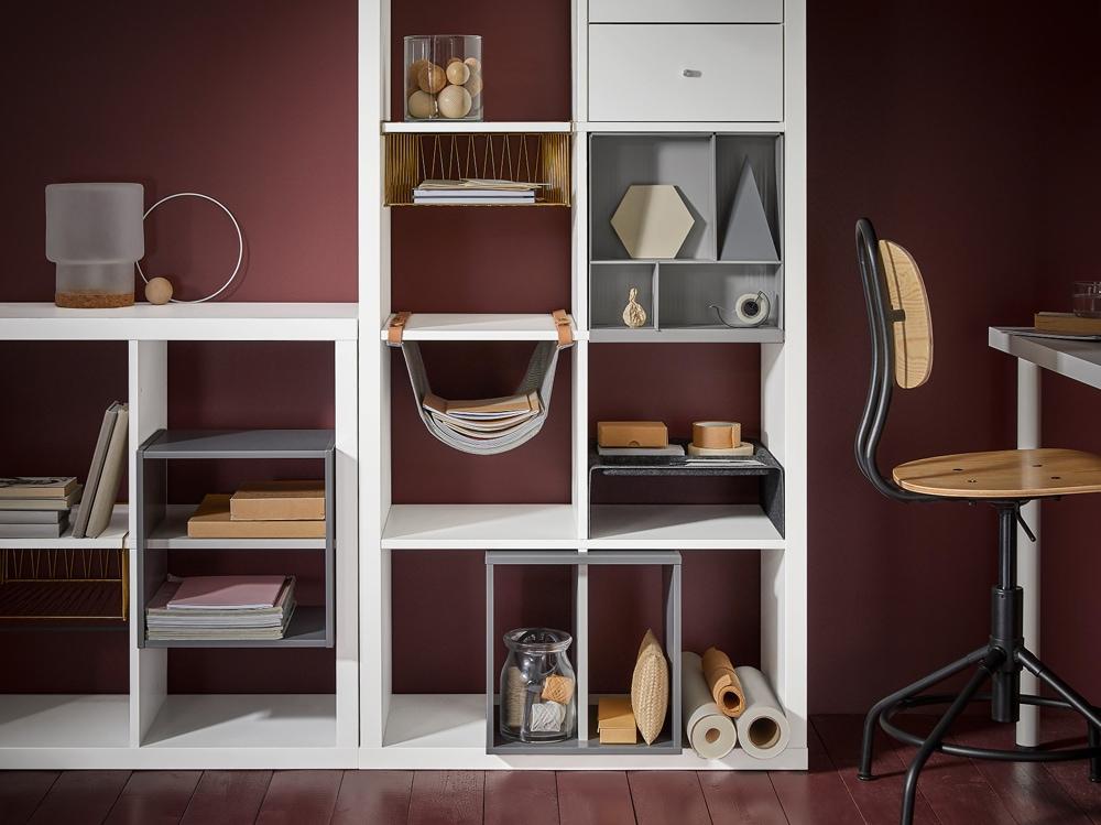 Come usare la libreria kallax di ikea in ogni stanza - Mobile kallax ikea ...