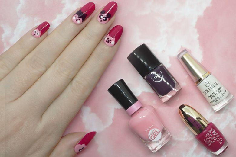 La Nail Art per San Valentino creata da Non Solo Kawaii