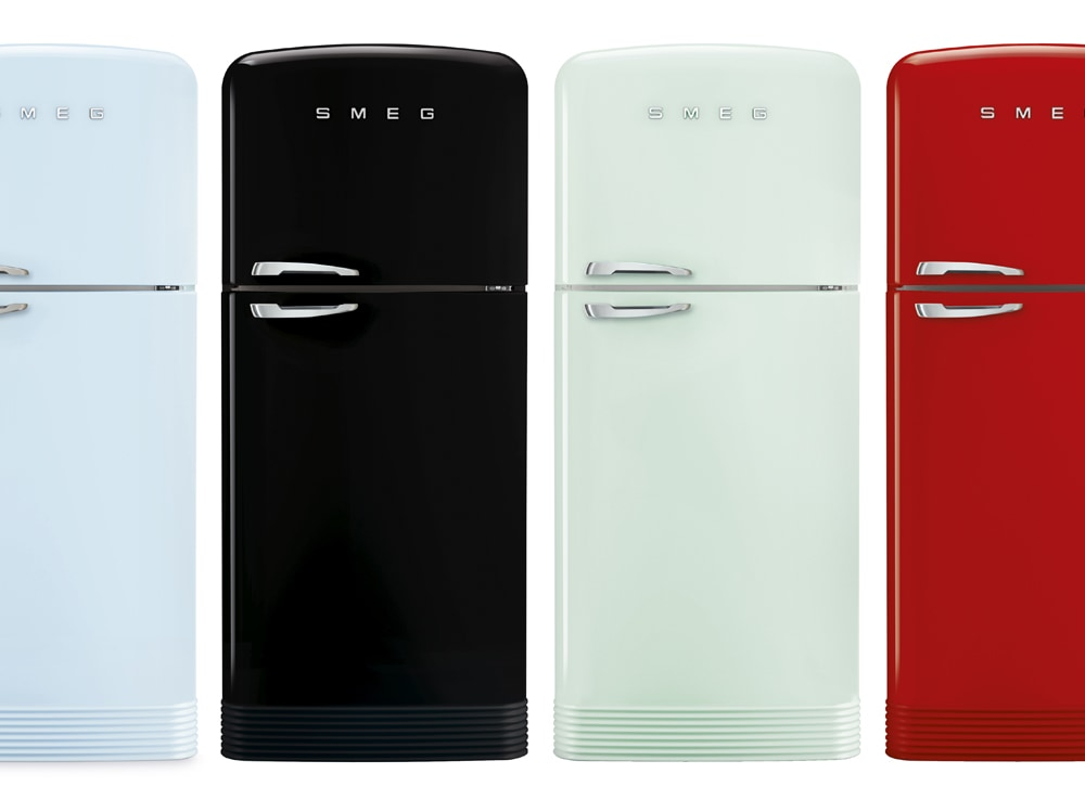 Smeg: il frigorifero Anni \'50 si rinnova
