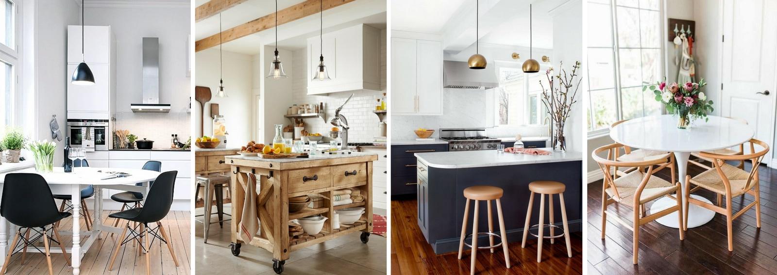 Come inserire il tavolo in una cucina piccola 10 idee da - Idee arredo cucina piccola ...