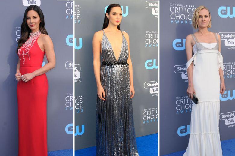 Critics' Choice Awards 2018: tutti i look delle celeb