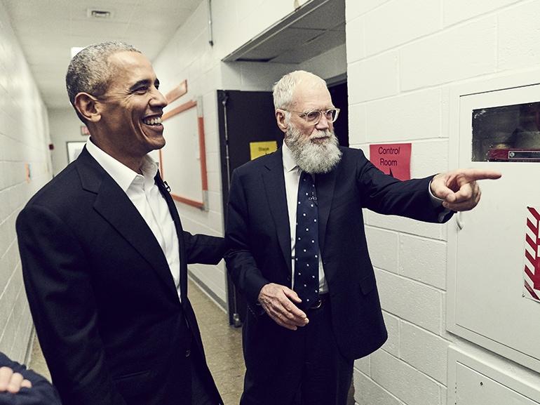 david letterman barack obama