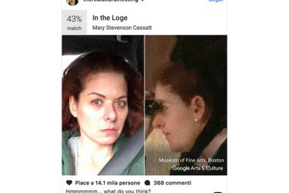 debra messing google arts