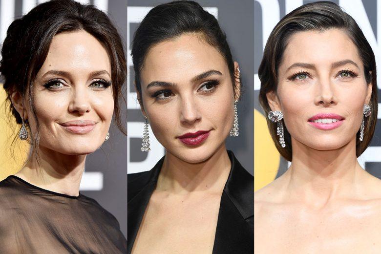 Golden Globe 2018: tutti i migliori beauty look delle star