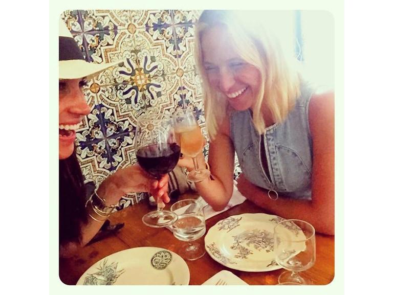 meghan markle vino amica instagram