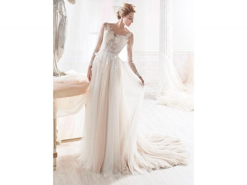 nicole-spose-abito-rosa-2018