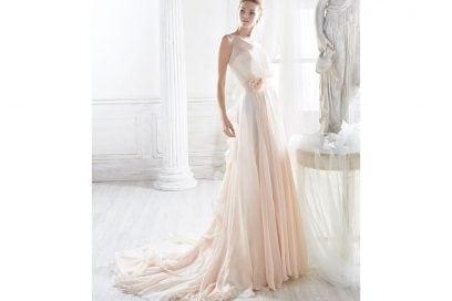 nicole-spose-abito-rosa-fiore-fiocco