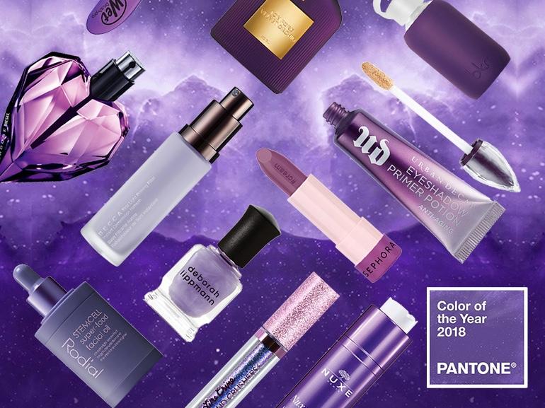 prodotti di bellezza ultra violet pantone viola 2018 collage_mobile