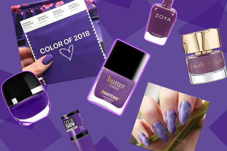 Smalti Ultra Violet: le unghie 2018 si tingono di viola
