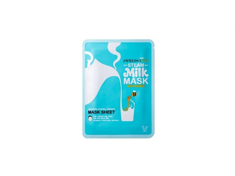 steam milk mask