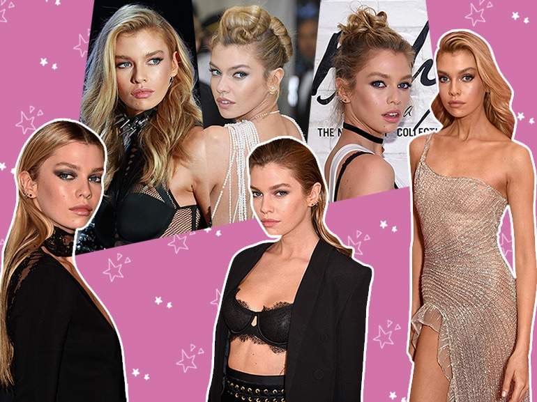 stella maxwell beauty look capelli trucco MOBILE_Maxwell