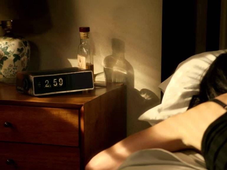 svegliarsi tardi in hangoover